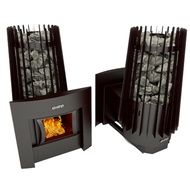 Дровяная банная печь Grill'D Cometa 180 window black